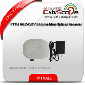 FTTH AGC-Or110 Home Mini Optical Receiver/Optical Node pictures & photos