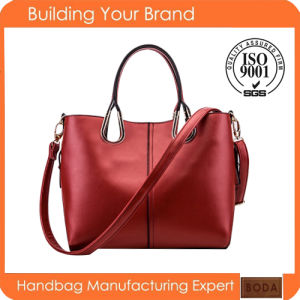 2015 China Newest Wholesale Exported Trendy Leather Women Handbag pictures & photos