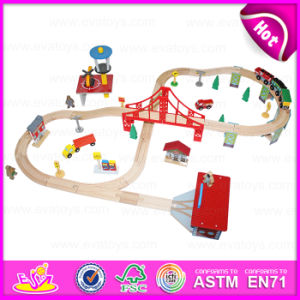 2016 New Design Popular Kid Wooden Toy Train Set, Fashion Wooden Wooden Toy Train Set, Top Sale Wooden Toy Train Set W04c029 pictures & photos