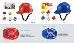 ABS/PE Comfort Protective Hat Adjustable Safety Helmets pictures & photos