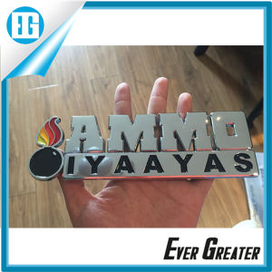 High Quality Awesome Plastic Car Emblems with Your Logo pictures & photos