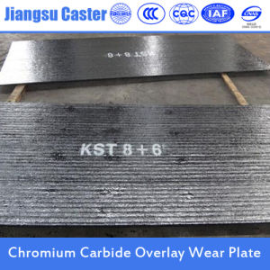 Chrome Carbide Surfacing Wear Plate Manufacturer 8+6 pictures & photos