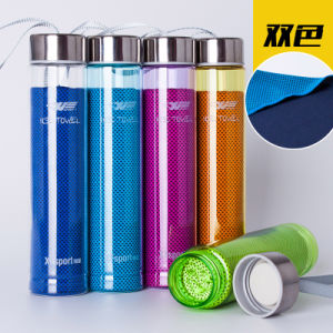 Factory Wholesale Promotion PVA Sport Towel Disposable Towel Cool Ice Towel with Cup pictures & photos