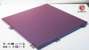 Chameleon Solid Aluminium Panel for Cladding (GL-010) pictures & photos