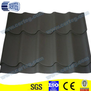Black Prepainted Galvanized Steel Glazed Tiles pictures & photos