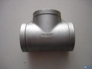 Stainless Steel 304/316 Thread Tee pictures & photos