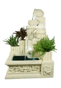 Square Decorations Sandstone Sculpture Resin Statue Fountain pictures & photos