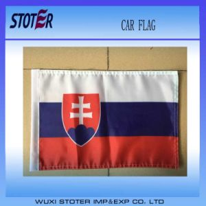 Best Profit and Promotional Window Car Flag in America Polyester Car Flag Car Mirror Socks pictures & photos