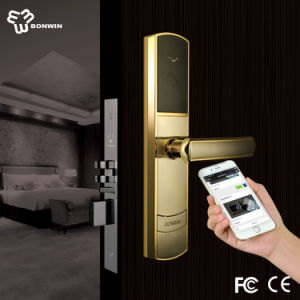 Smart Hotel Wireless ANSI Mortise NFC Door Lock pictures & photos