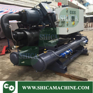 120 Ton Industrial Screw Type Water Cooled Water Chiller pictures & photos
