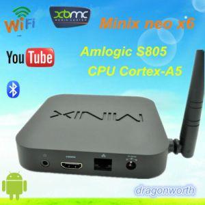 Minix Neo X6 Amlogic S805 Quad Core Smart TV Box pictures & photos
