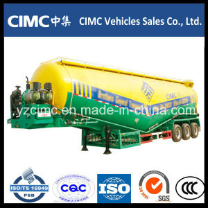 Cimc 55ton 3 Axles Bulk Cement Trailer / Cement Tanker / Cement Bulker pictures & photos