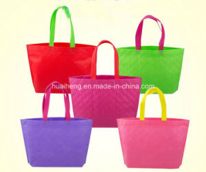 Travel Promotional Reusable Grocery Bags Tote Non Woven Shopping Bags pictures & photos