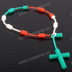 Customized Silicone Fashion Multicolour Rubber Bracelet
