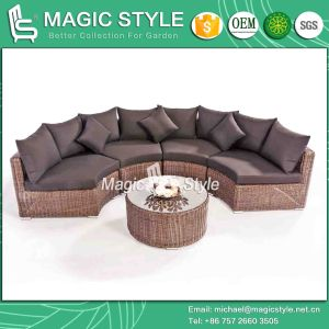 Toto Sofa Set Combination Sofa Garden Sofa Set Outdoor Rattan Sofa Wicker Sofa Patio Furniture (MAGIC STYLE) pictures & photos