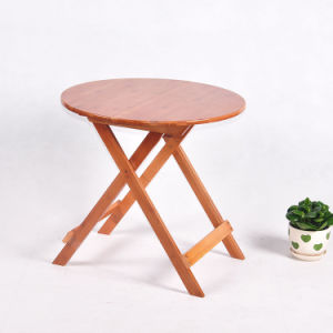 Bamboo Table Folding Table Garden Round Table Dining Table Wholesale pictures & photos