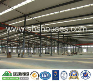 Industrial Buildings for Sbs Prefab Steel Structure pictures & photos