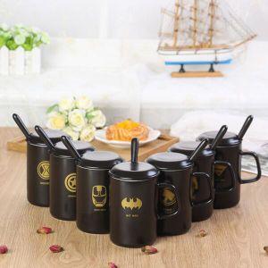 Batman Pattern Promotional Coffee Mug Ceramic Dolomite Cup Porcelain Gift Mug pictures & photos