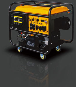 10kw/ 12.5kVA Open Type Gasoline/Petrol Generator with Electric Start.