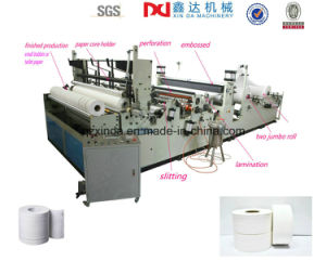 Automatic Rewinder Small Bobbin Toilet Paper Processing Machinery Equipment pictures & photos