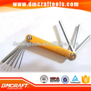 8PCS Aluminium Folding Hex Key Wrench Set Allen Key pictures & photos