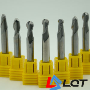 HRC 55 Degree Carbide Ball Nose End Mill pictures & photos