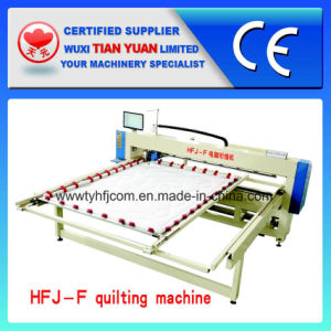 Single Head Single Needle Mattress Computerized Quilting Machine pictures & photos