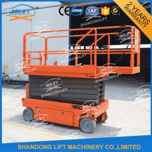 Hydraulic Automatic Battery Powered Scissor Lift Electric Scaffolding pictures & photos