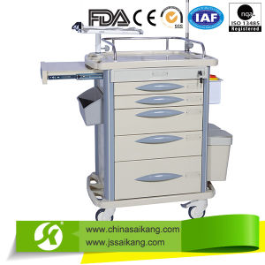 Durable Hospital Care Medicine Changing Trolley pictures & photos