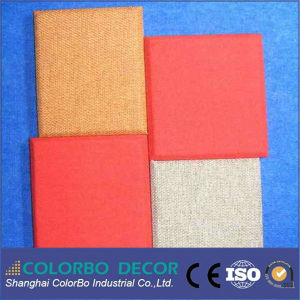 Sound Acoustical Polyester Core Materials Fabric Acoustic Panel pictures & photos