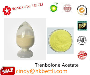 99.6% Purity Steroid Raw Powder Trenbolone Acetate Bodybuilding Anabolic Steroid Hormones CAS 10161-34-9 pictures & photos