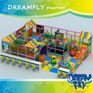 Lovely Cartoon Good Quality Kids Indoor Playground
