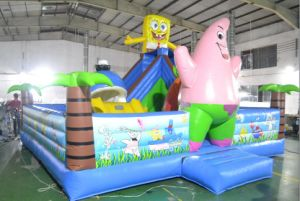 Beautiful Kids Inflatable Bouncer, Bounce House with Beautiful Printing China Whole Sale pictures & photos