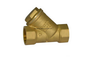 High Quality Y Type Brass Strainer Filter Check Valve pictures & photos