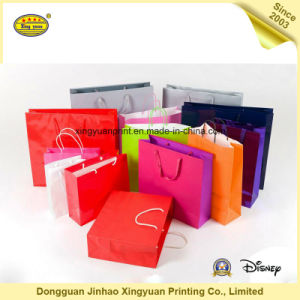 Cmyk Printing Gift Packaging Paper Bags (JHXY-PBG0002) pictures & photos