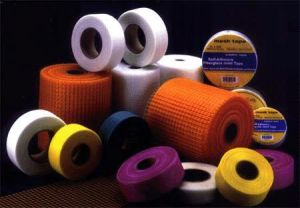 Self Ahdesive Fiber Glass Mesh Tape, Fiberglass Plaster Drywall Tape pictures & photos
