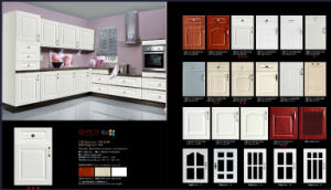 European PVC Vacumn Cabinet Door (new design) pictures & photos