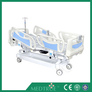 CE/ISO Medical Five Function Electric Hospital Patient Bed pictures & photos