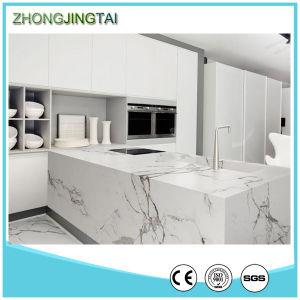 Carrara White Quartz Stone, Artificial Marble Quartz Stone for Countertop pictures & photos