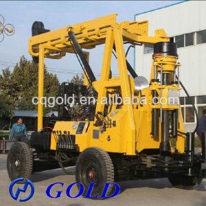 Trailer Mounted Water Well Drilling Machine, Core Drilling Rig, Artesian Well Drilling Machine pictures & photos