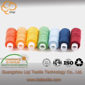 Super Cotton Garment Sewing Thread Textile Fabric Use pictures & photos