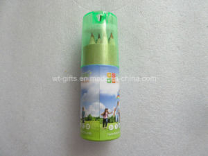 Promotion Color Sharpner with Color Pencil Set in Paper Tube