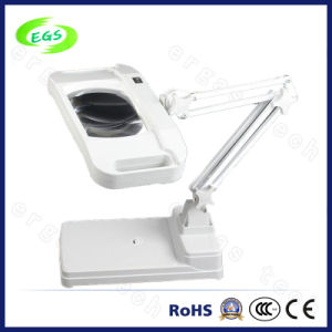 Popular Type Table-Clamping LED Magnifier pictures & photos