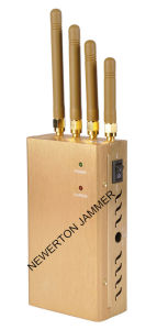 Powerful Golden Portable Cellphone Signal Jammer GPS Jammer pictures & photos