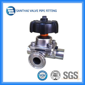 Sanitary Stainless Steel Clamped Diaphragm Valve St-V1030