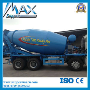 Shacman 336HP 9 Cubic Meters Concrete Mixer Truck for Beru pictures & photos