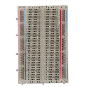 400 Tie-Point Solderless Breadborad Test Breadboard (BB-801T) pictures & photos