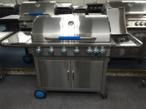 Europe Hot Selling Barbeque Grill Gas BBQ with 6 Burner pictures & photos