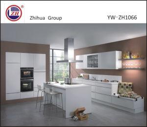 Modern Australia Lacquer White Color Kitchen Cabinet pictures & photos