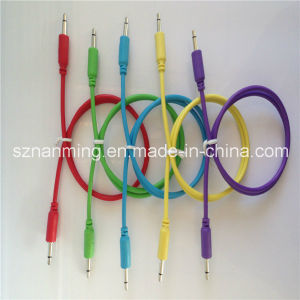 3.5mm Mono Male to Male Extension Cable pictures & photos